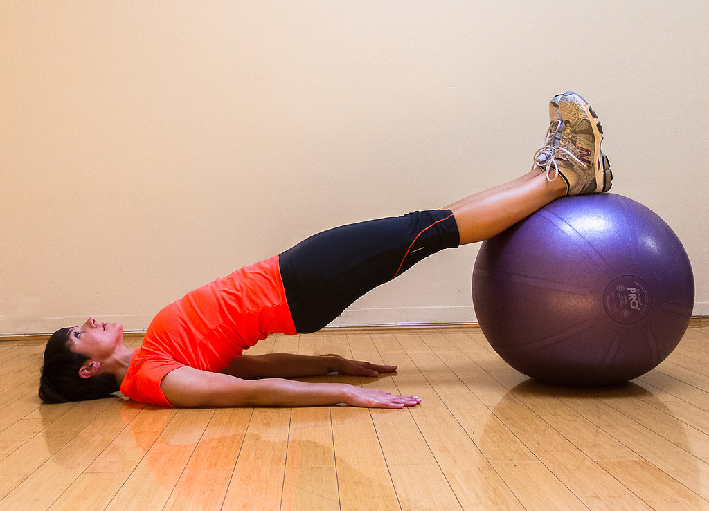 Straight-Leg-Bridge-Stability-Ball