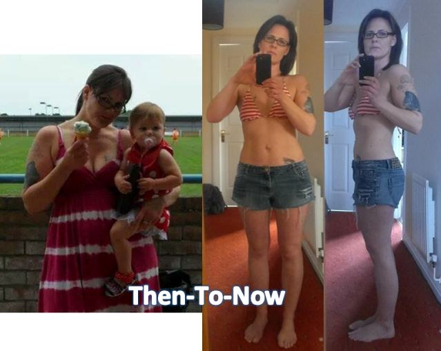 mom loses weight at home