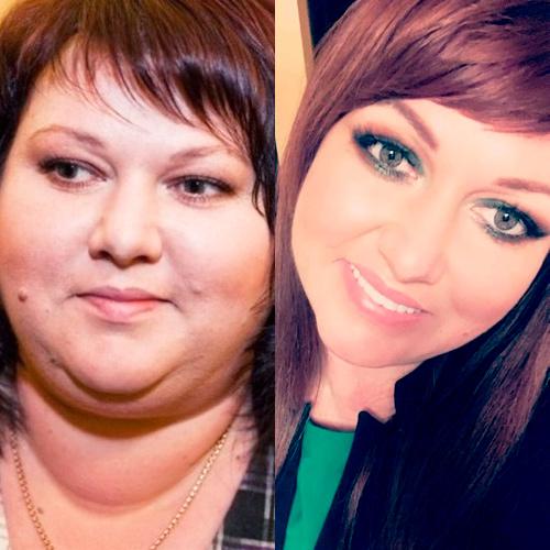 Ольга похудела на 60 кг фото