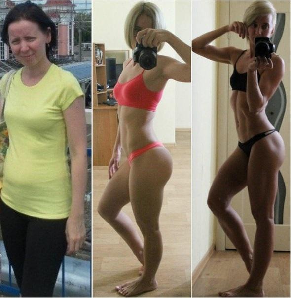 С чего начать похудение женщине в зале