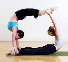 Yoga Poses for 2: Wheel