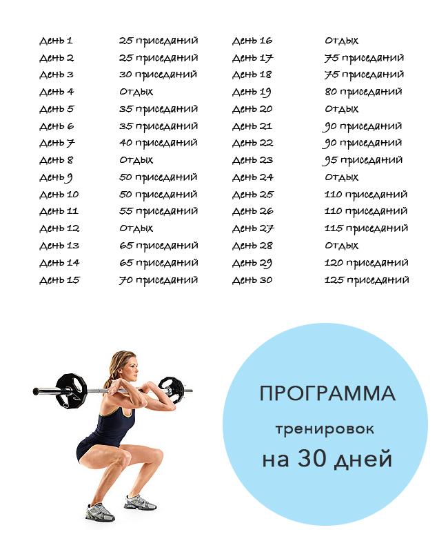 Программа для похудения девушка