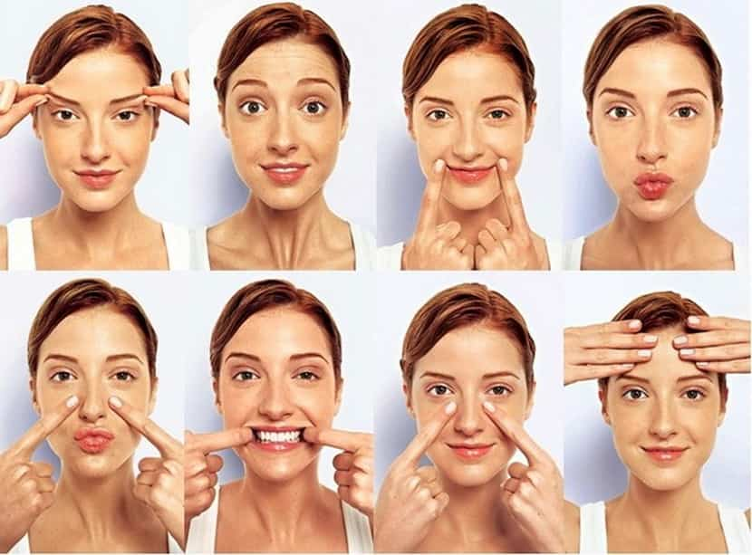Как сохранить лицо при похудении