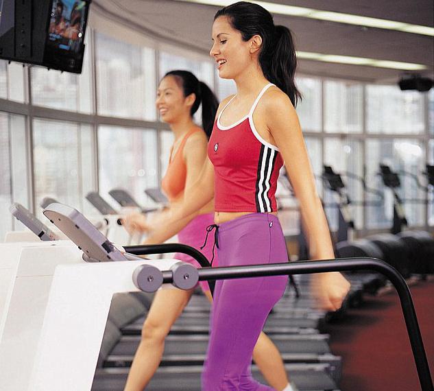 Спортзал для девушек похудеть